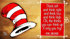 dr seuss on the thinks you can think up the best schools dr seuss oh the thinks you can think up