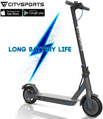 Electric Scooter With <b>app Foldable</b> E-Scooter 350w <b>7.5Ah</b> UK ...
