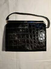 Crocodile/<b>Alligator</b> 1950s <b>Vintage Bags</b> & Cases for sale | eBay