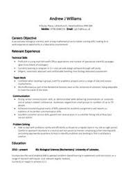 14 example of a good cv for student resume resume template for students