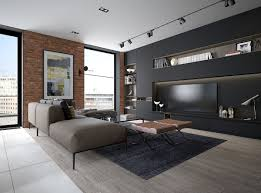 design a chic modern space around a brick accent wall bedroom accent lighting surrounding
