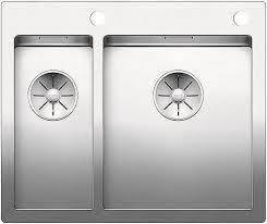 <b>Кухонная мойка Blanco Claron</b> 340/180-IF/A InFino нержавеющая ...
