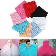 6'' <b>Crochet Tube Top</b> Elastic Waistband Headband F. Baby Girls ...