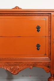 i love this gorgeous buffet so orangelicious orange is my fav color never woulda had the guts for this til now burnt orange furniture