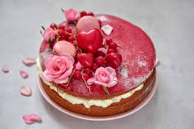 <b>Fluffy Red</b> Velvet Cake w/ Coconut cream frosting - Alphafoodie
