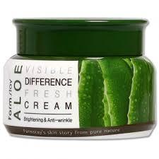<b>Farmstay</b> Visible Difference Fresh <b>Cream</b> Aloe: отзывы, инструкция ...