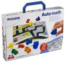 Купить <b>Настольная игра Miniland</b> Автоматематика по низкой ...