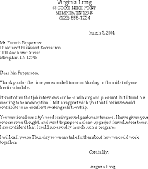 sample thank you letter after a job interview   free resume    thank you for the interview