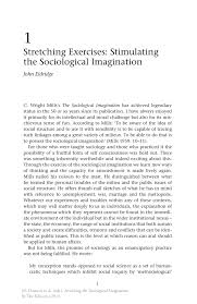 stretching exercises stimulating the sociological imagination stretching the sociological imagination stretching the sociological imagination