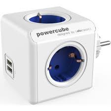 <b>Разветвитель Allocacoc PowerCube Original USB</b> красный ...