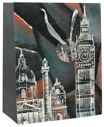 """<b>Пакет подарочный</b> Perfect Craft """"Ночной Лондон"""", 18 х 24 х 8 см ..."""