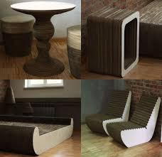 polish designers create cardboard furniture for eco minded client eco friend cardboard furniture design