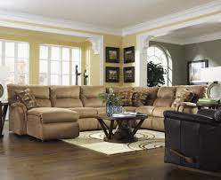 living room exquisite couches for ideas brown color curve shape couch with chaise round dark wooden brilliant decorating mirrored furniture target
