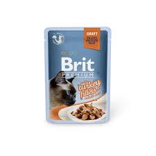 <b>Brit Premium Cat</b> Delicate <b>консервы</b> для кошек в мешке Turkey in ...