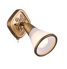 <b>Спот</b>-светильник поворотный (латунь). Spot <b>Luther</b> 1 <b>Maytoni</b> ...