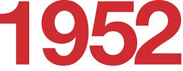 「1952」の画像検索結果