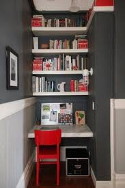 yes you can fit a home office into your tiny home apartment therapy atlanta closet home office