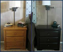 general finishes gel stain before after bedroom furniture makeover