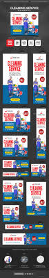 cleaning service banners by doto graphicriver cleaning service banners banners ads web elements