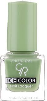 <b>Golden</b> Rose Ice Color Nail Lacquer - <b>Лак для ногтей</b> | Makeupstore ...