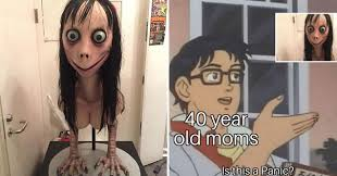 52 <b>Scary Momo</b> Memes That Are As <b>Creepy</b> as They Are Mysterious ...