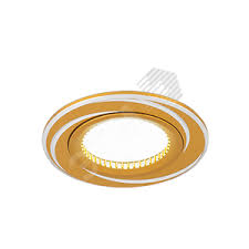 <b>Светильник Aluminium AL015</b> Круг. Золото/Хром, Gu5.3 1/100 ...