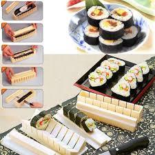 High Quality <b>10Pcs</b>/set DIY <b>Sushi Maker</b> Rice Mold Kitchen Sushi ...