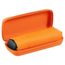 <b>Зонт складной Unit Five</b>, оранжевый - купить в Vertcomm
