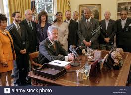 stock photo us president bill clinton following his weekly radio address in the oval office of the white house september 12 1998 in washington dc bill clinton oval office
