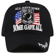Official Licensed Pow Mia <b>USA Flag</b> 3D <b>baseball Cap</b> - THE HAT ...