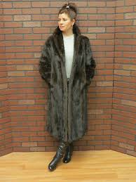 HUDSON BAY of CANADA dark MAHOGANY BLACK MINK <b>FUR</b> ...
