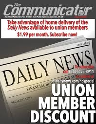support our union brothers and sisters at the daily news bulletin board ad flier please post ad circulate