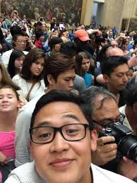 so i saw the mona lisa today here s a picture to prove it so i saw the mona lisa today here s a picture to prove it