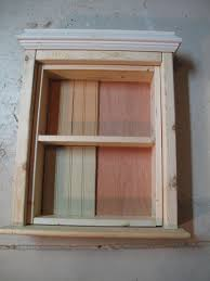 Rustic Wood Medicine Cabinet Create A Medicine Cabinet From A Mirror Diy Scavenger Chic