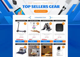 Get Great Discounts On Top Sellers Gear On GearBest; Coupons ...