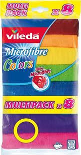 <b>Салфетка Vileda Колорс</b>, разноцветный, 8 шт