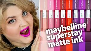 самые стойкие <b>помады maybelline superstay</b> matte ink!
