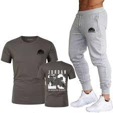 <b>2019</b> new brand clothing Jordan 23 men's T-shirt + pants <b>funny</b> ...