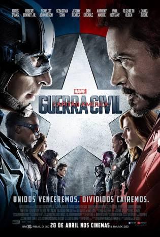 Capitão América Guerra Civil – HD 720p – Dublado e Legendado