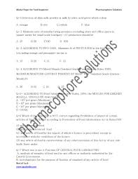 food safety officer model question paper  u p food inspector exam previous question papers 1