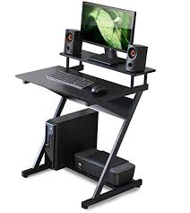 Fitueyes Small Computer Desk with Monitor Shelf ... - Amazon.com