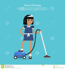 house cleaning template web page stock vector image  house cleaning template web page
