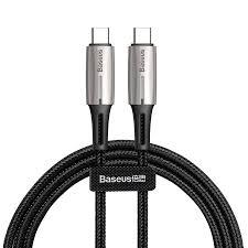 Кабель USB Type-C - USB Type-C 2м <b>Baseus Water Drop</b>-<b>shaped</b> ...