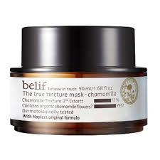 <b>belif</b> TINCTURE Маска для лица с экстрактом ромашки купить по ...