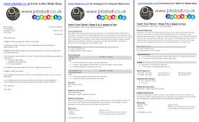 jobsball cv and cover letter made easy cover letter cv curriculum vitae and resume made easy