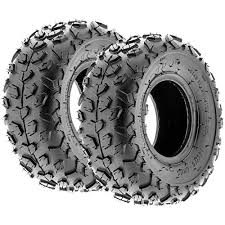 Pair 2 <b>Kenda Scorpion 18x9</b>.<b>5</b>-8 ATV Tire Set 18x9.5x8 <b>K290</b> 18-9.5-8
