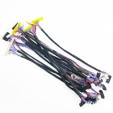 7-27inch <b>universal</b> LVDS cable kit 14pcs/lot for <b>LCD</b> LED <b>screen</b>