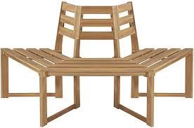 Unfade Memory Patio Bench Surround <b>Tree Bench Half-Hexagonal</b> ...