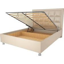 <b>Кровать OrthoSleep</b> Альба <b>бисквит</b> механизм и ящик 160х200 ...