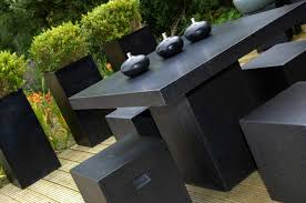 black garden ideas black garden furniture